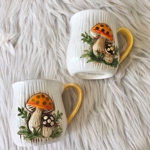 Vintage Kitchen - Vintage | Merry Mushroom | Sears Roebuck Mug Set
